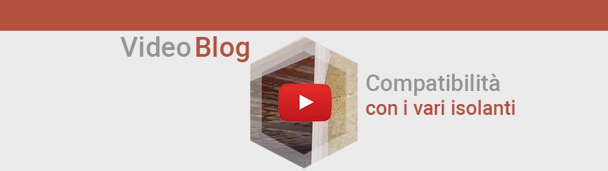 Controtelai isolanti – Compatibilità con i vari isolanti